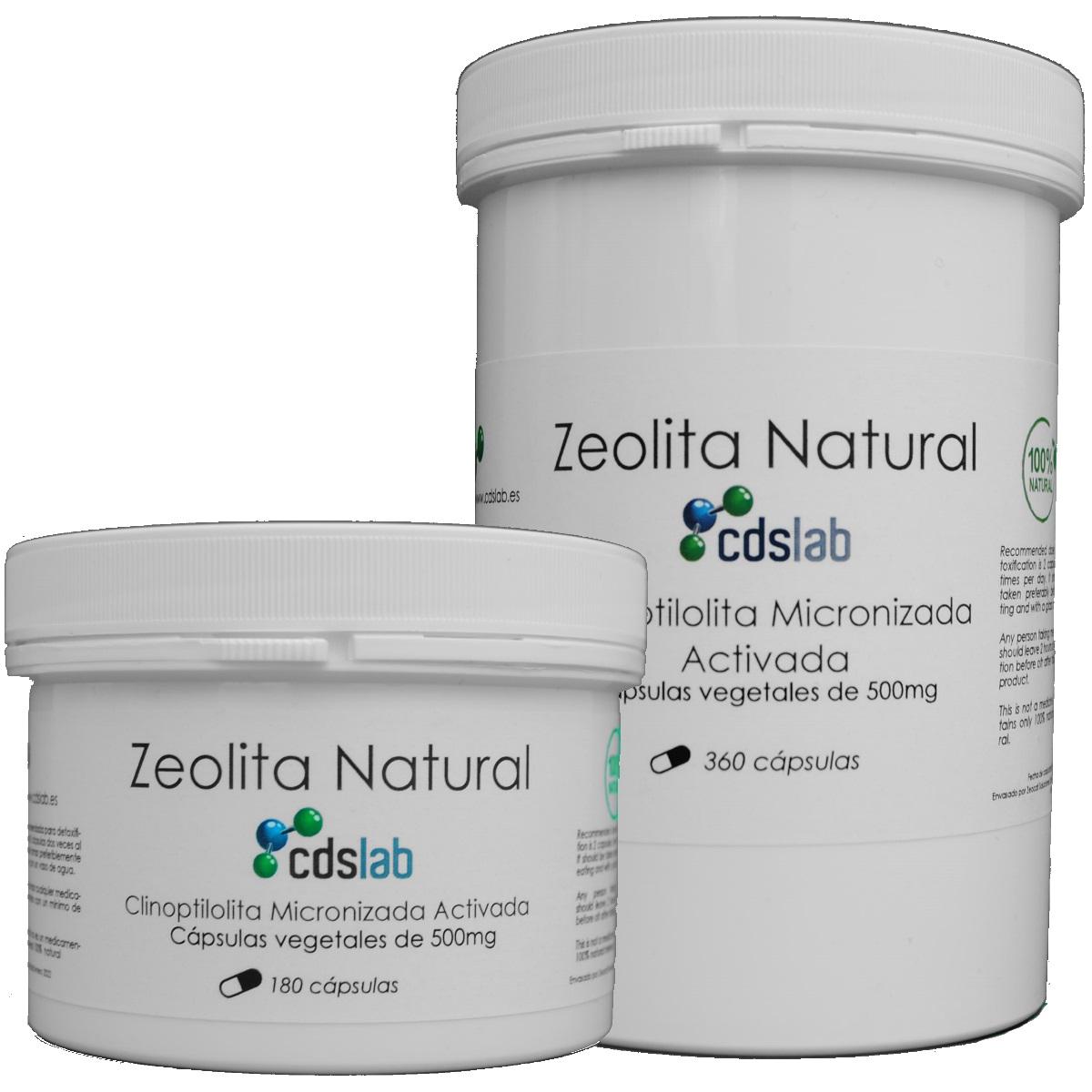 Zeolita en capsulas